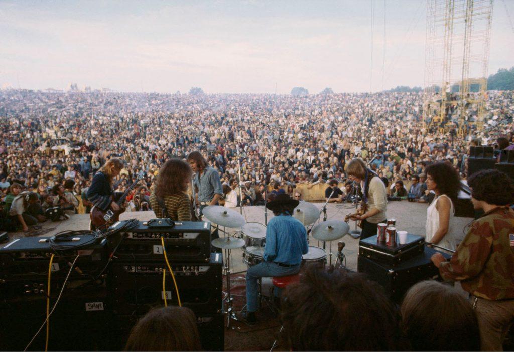 Woodstock 1969 (c) Rowland Scherman
