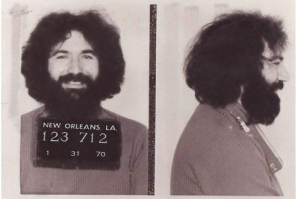 Jerry Garcia Grateful Dead Truckin